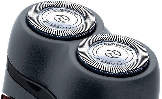 Máy cạo râu Philips PQ206 ôm theo đường cong trên khuôn mặt