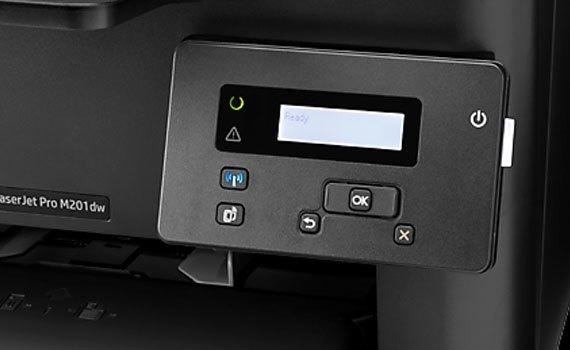 Máy in Laser HP Laserjet Pro M201D tích hợp độ phân giải cao 600 x 600 dpi