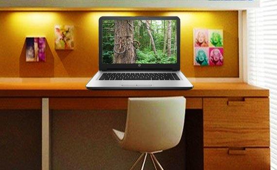 Thiết kế laptop HP 14 AM056TU X1H03PA nhỏ gọn