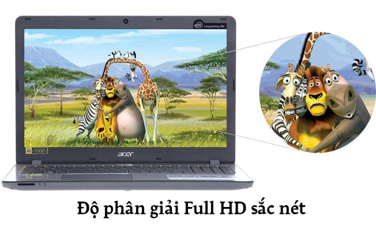 Máy tính xách tay Acer Aspire F5-573G-55HV màn hình 15.6 inch hiển thị hình ảnh sắc nét
