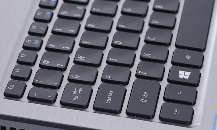 Máy tính xách tay Acer Aspire F5-573G-55HV bàn phím thông minh thao tác thoải mái