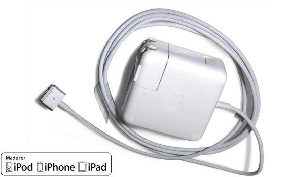 Sạc Apple 60W MagSafe 2 Power Adapter MD565ZA/B đúng chuẩn MFI