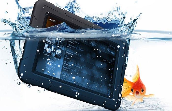 Máy tính bảng Hanet Smartlist 2016 khả năng chống nước cực tốt