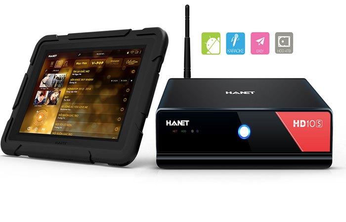 Máy tính bảng Hanet Smartlist 2016 đồng bộ dữ liệu tốc độ cao nhanh chóng