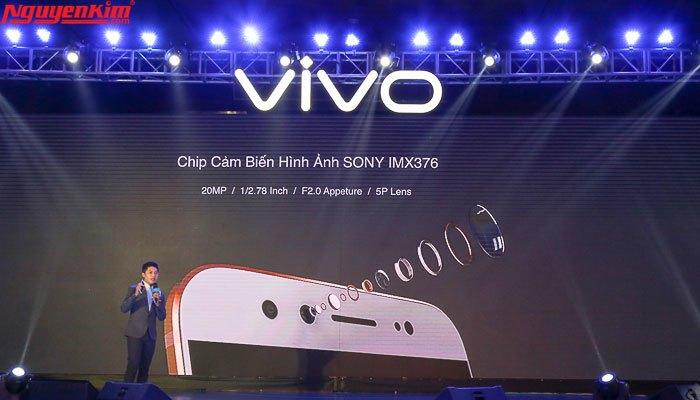 Camera selfie kép của Vivo V5 Plus