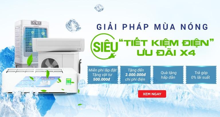 Mua máy lạnh online - giảm đến 2 triệu