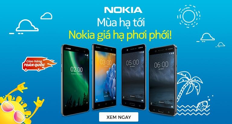 Mùa hạ tới - Nokia giảm giá phơi phới