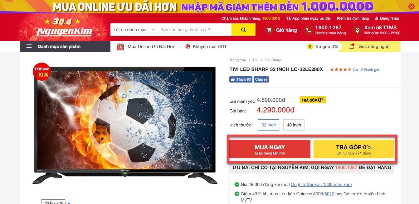 Mã giảm giá Nguyễn Kim -Deal nguyễn kim mới nhất cập nhật hàng ngày 5