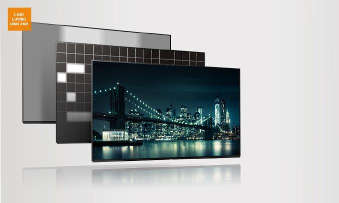 Tivi Panasonic 55 inch TH-55FX700V có công nghệ làm mờ cục bộ