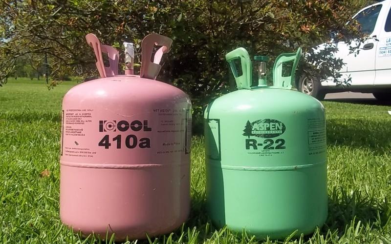R22 và R410A là những gas phổ biến trên thị trường