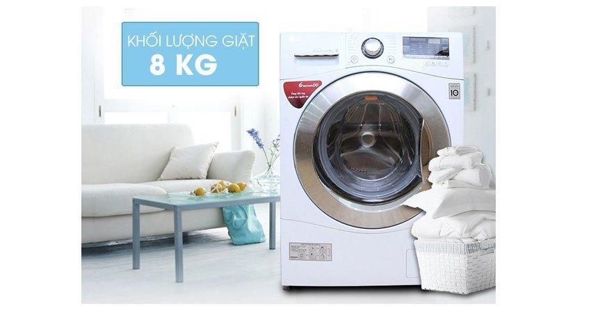 Máy giặt LG WD-14660 thiết kế hiện đại và sang trọng