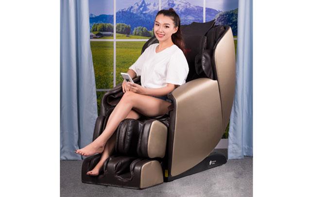 Ghế Massage Buheung MK-6500 xoa bop toàn thân