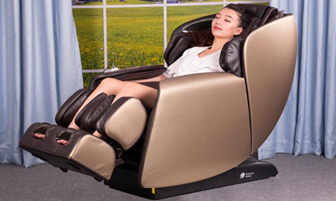 Ghế Massage Buheung MK-6500 chức năng nghe nhạc hấp dẫn