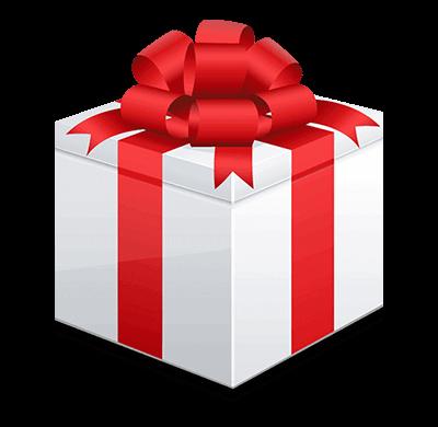 Click vào quà tặng