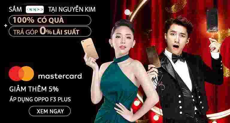 Sắm Oppo trúng quà 100% tại Nguyễn Kim.