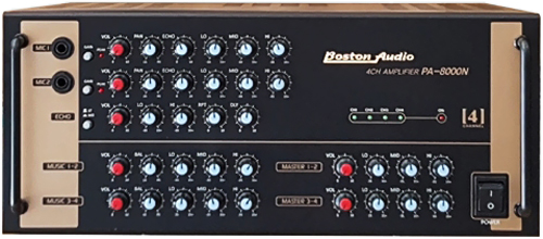 AMPLY BOSTON AUDIO PA 8000N