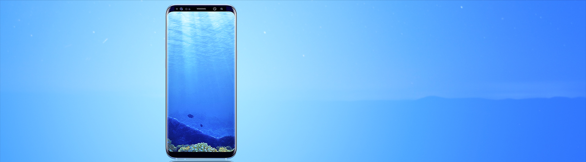 SAMSUNG GALAXY S8 PLUS XANH