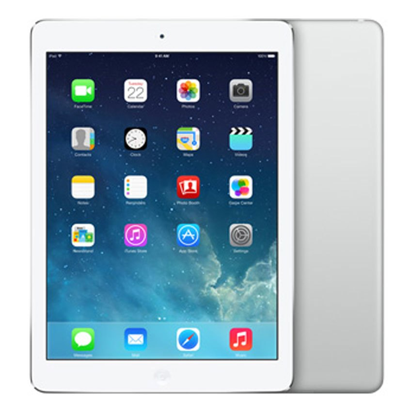 MÁY TÍNH BẢNG APPLE IPAD WI-FI 128GB SILVER-THA_ME906TH/A (iPad Air Wi-Fi)