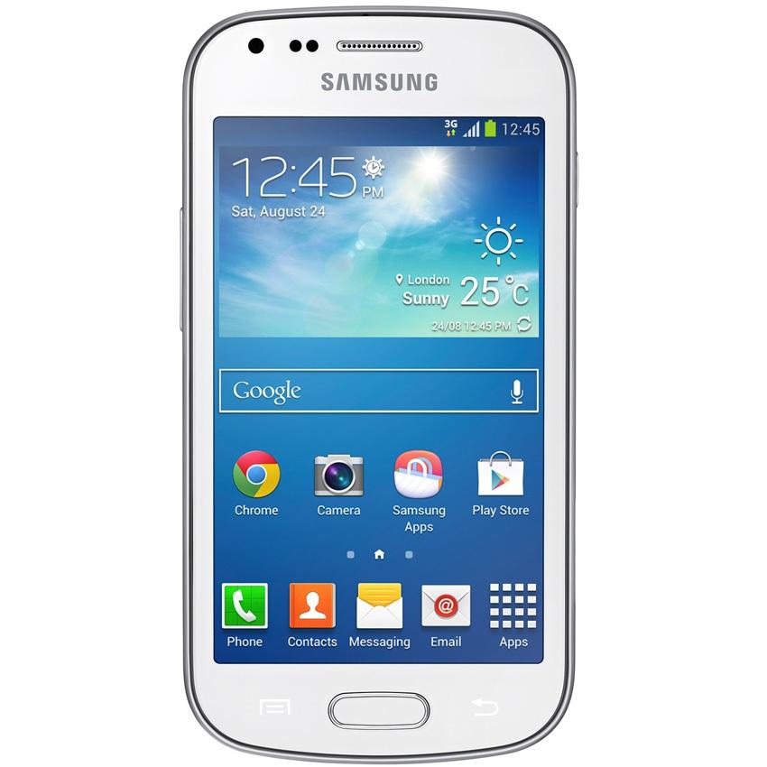 Điện thoại Samsung Galaxy Trend Plus GT-S7580 trắng giá rẻ có bán tại Nguyễn Kim