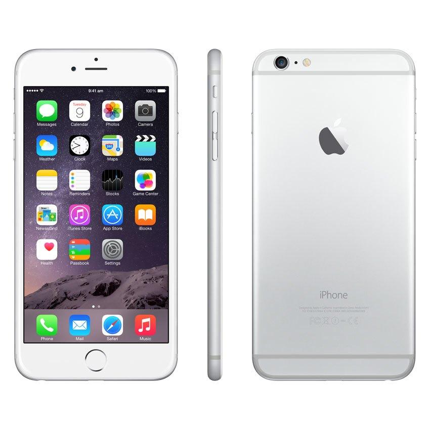 Điên thoại iPhone 6 plus 16GB bạc giá tốt có bán trả góp ...