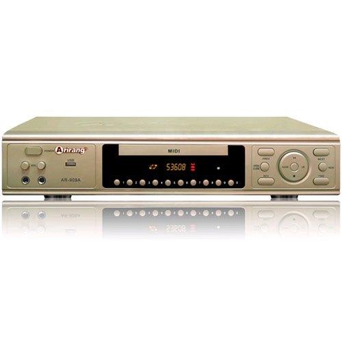 Đầu đĩa DVD Karaoke Arirang AR-909A đọc được tất cả các loại đĩa và file nén thông dụng