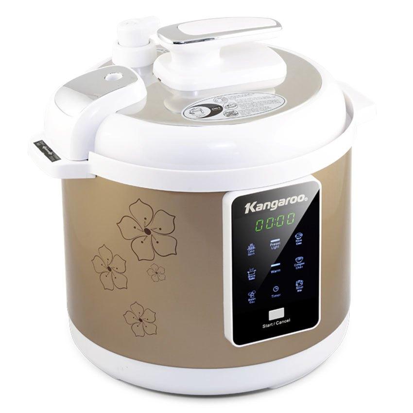 Nồi áp suất điện tử Kangaroo KG139 6L