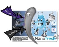 Tủ lạnh Sanyo SR-125RN(SS) diệt khuẩn và khử mùi Nano Ag+.