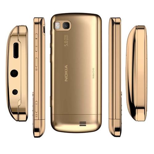 Điện thoại Nokia C3-01 Gold