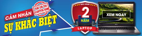 Laptop bảo hành 2 năm