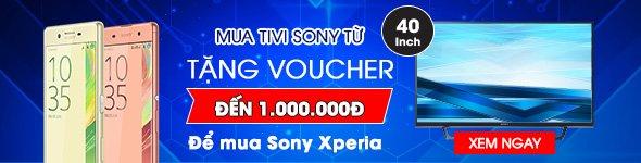 Mua Tivi Sony Từ 40 inch tặng Voucher 1.000.000 VNĐ