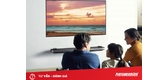 Biến phòng khách thành phòng giải trí bằng chiếc tivi thông minh