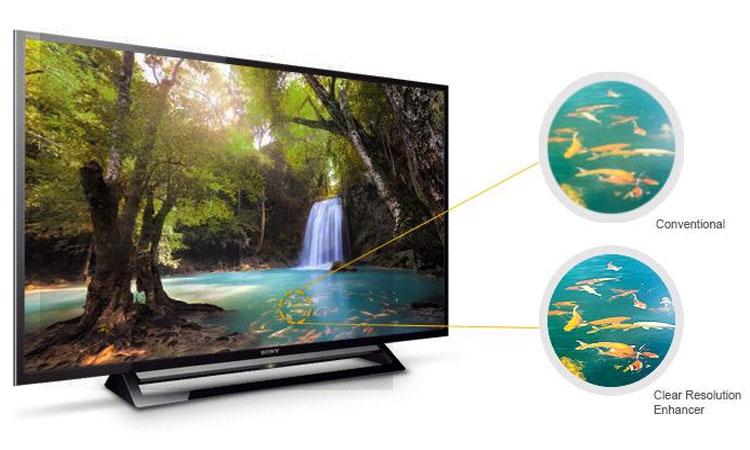 Tivi Sony 32 inch KDL-32R300E VN3 hình ảnh sắc nét đến từng chi tiết
